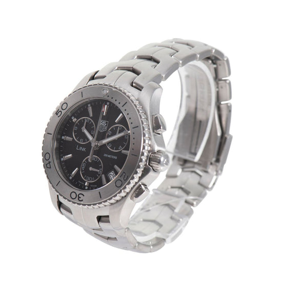 TAG Heuer Link CJ1110 Black & Steel 42mm Mens Watch