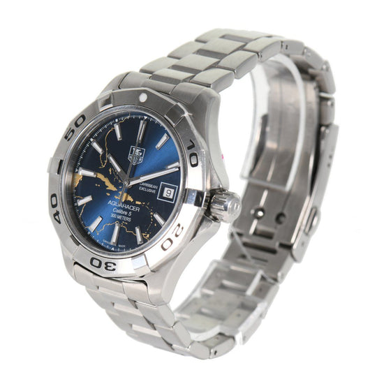 Tag Heuer Aquaracer WAP201AG - 39mm Stainless Steel Mens Watch