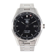Load image into Gallery viewer, Tag Heuer Carrera Automatic WV2115-0 Steel Black Dial 39mm Mens Watch