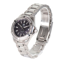 Load image into Gallery viewer, Tag Heuer Aquaracer WAY131P Steel & Black Mother Of Pearl 35mm
