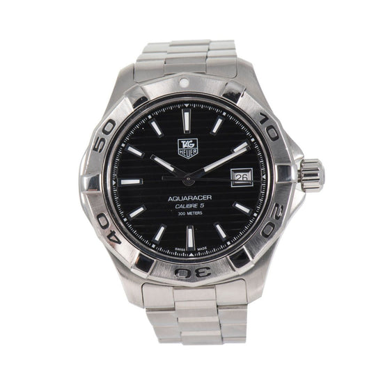 Tag Heuer Aquaracer Automatic WAP2010 Black Dial 42mm Mens Watch