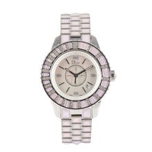 Load image into Gallery viewer, Christian Dior Christal CD113110 - 34mm Stainless Steel Ladies Watch