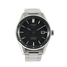 Load image into Gallery viewer, Tag Heuer Carrera Automatic WAR211A-1 Black Dial 38mm Mens Watch