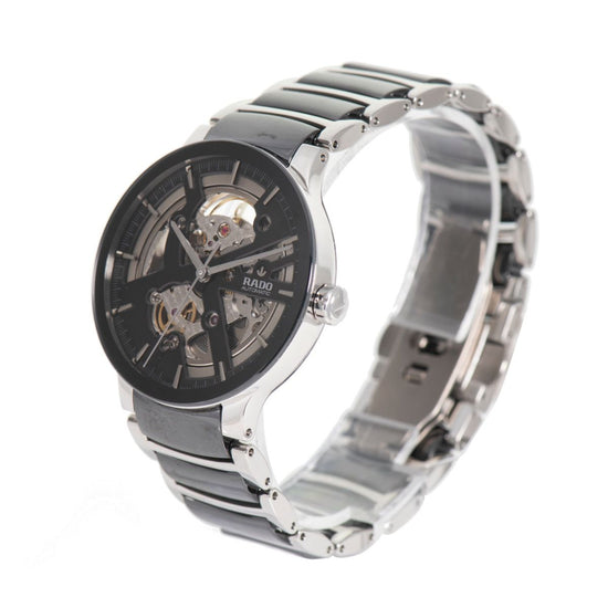 Rado Centrix 734.0178.3 Automatic Steel Skeleton Dial 38mm Mens Watch