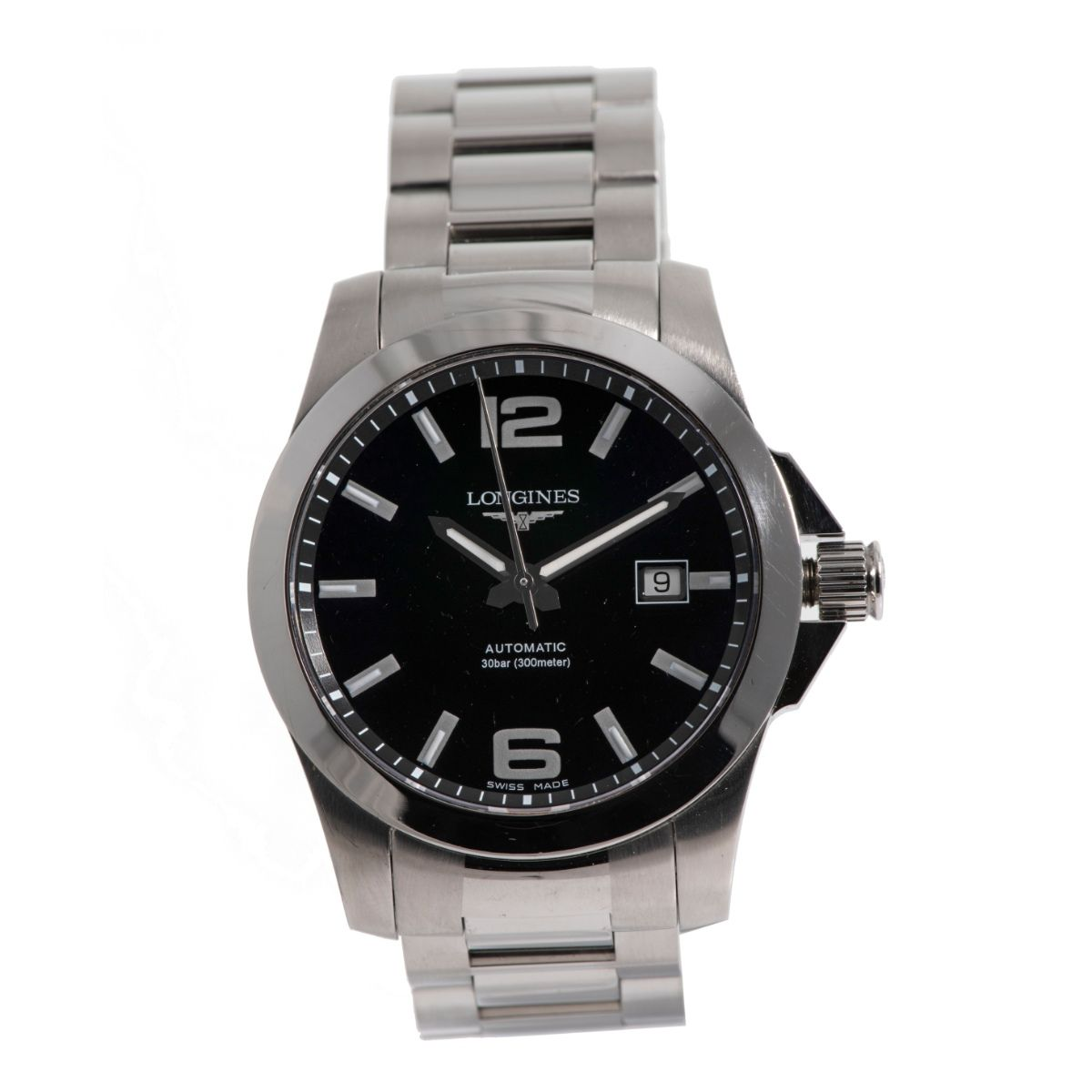 Longines Conquest L3.677.4 - 41mm Stainless Steel case Mens Watch