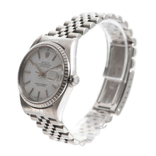 Load image into Gallery viewer, Rolex Datejust 16220 36mm White & Stainless Steel Automatic Mens Watch