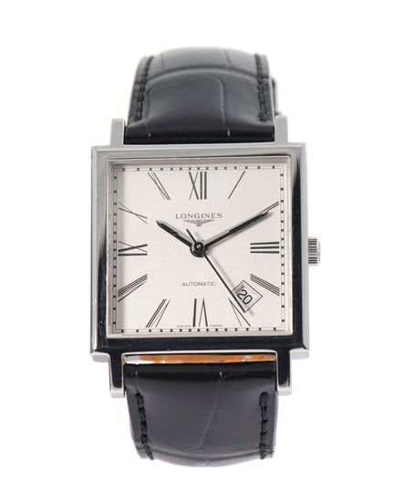 Longines Heritage L2.792.4 Steel & Grey 33mm Mens Watch