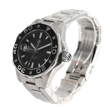 Load image into Gallery viewer, Tag Heuer Aquaracer WAJ2110 Steel Black 43mm Mens Watch