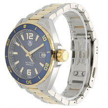 Load image into Gallery viewer, Tag Heuer F1 WAZ1120 Bi-Colour & Blue 41mm Mens Watch