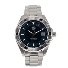 Load image into Gallery viewer, Tag Heuer Aquaracer WAY1112 Blue Dial Mens Watch