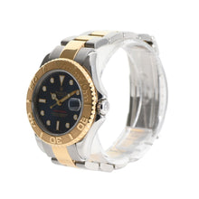 Load image into Gallery viewer, Rolex Yacht Master 168623 Bi-Colour & Blue 35mm Mens Watch