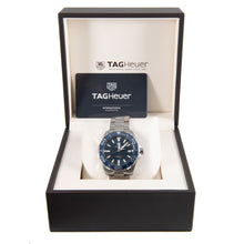 Load image into Gallery viewer, Tag Heuer Aquaracer WAY111C Mens Watch Steel & Blue 41mm