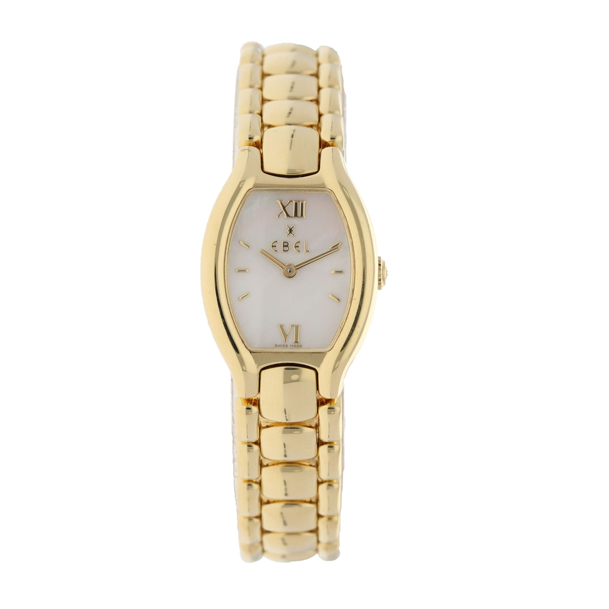 Ebel Beluga E8057421 18ct Gold & Mother of Pearl 20mm Ladies Watch