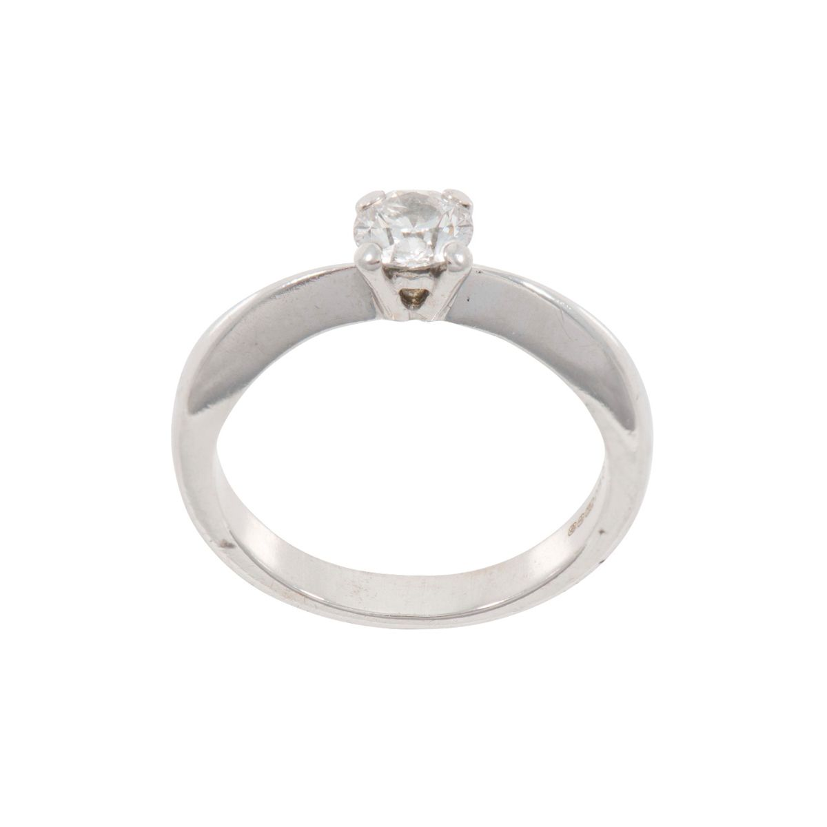 Diamond Solitaire Ring (N) - Q5FR9B