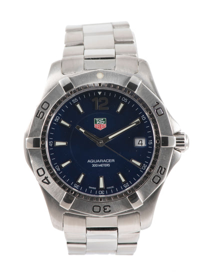 Tag Heuer Aquaracer WAF1113 - 38.5mm Stainless Steel case Mens Watch