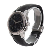 Load image into Gallery viewer, Baume & Mercier Capeland MV045216 Black Blue & Steel 37mm Mens Watch