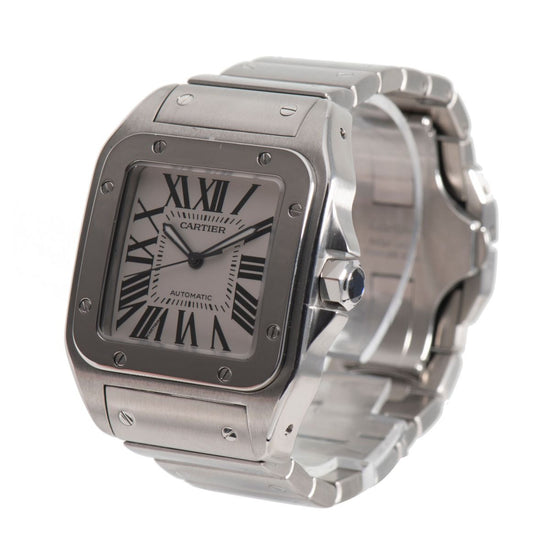 Cartier Santos 100 2656 Automatic 38mm Mens Watch