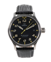 Load image into Gallery viewer, Omega Dynamic Steel & Black 36mm Mens Watch
