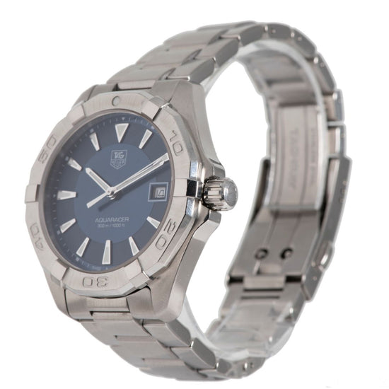 Tag Heuer Aquaracer WAY1112 Blue Dial Mens Watch