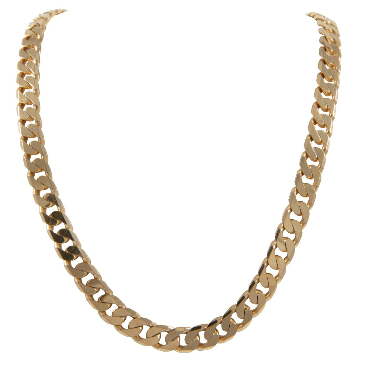 9ct Yellow Gold Curb Chain (20