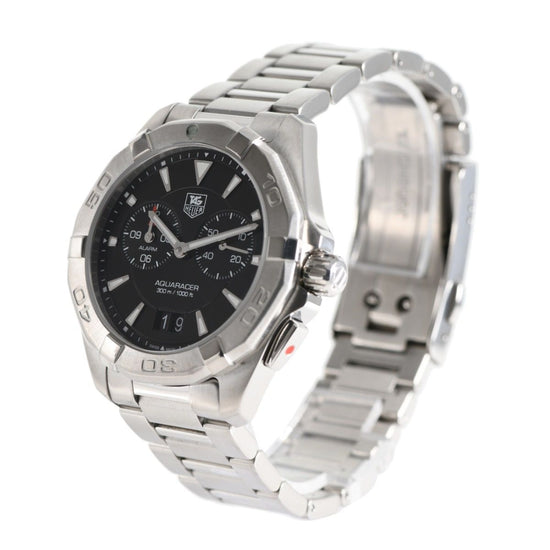 Tag Heuer Aquaracer WAY111Z Alarm 40mm Steel Mens Watch