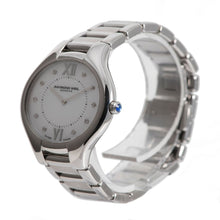 Load image into Gallery viewer, Raymond Weil Noemia 5132 Steel & Diamond Set Mother of Pearl 32mm Ladies Watch
