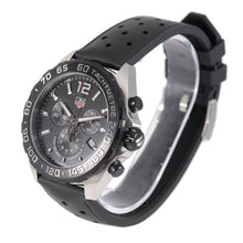 Load image into Gallery viewer, Tag Heuer F1 CAZ1010 Steel and Black 43mm Mens Watch