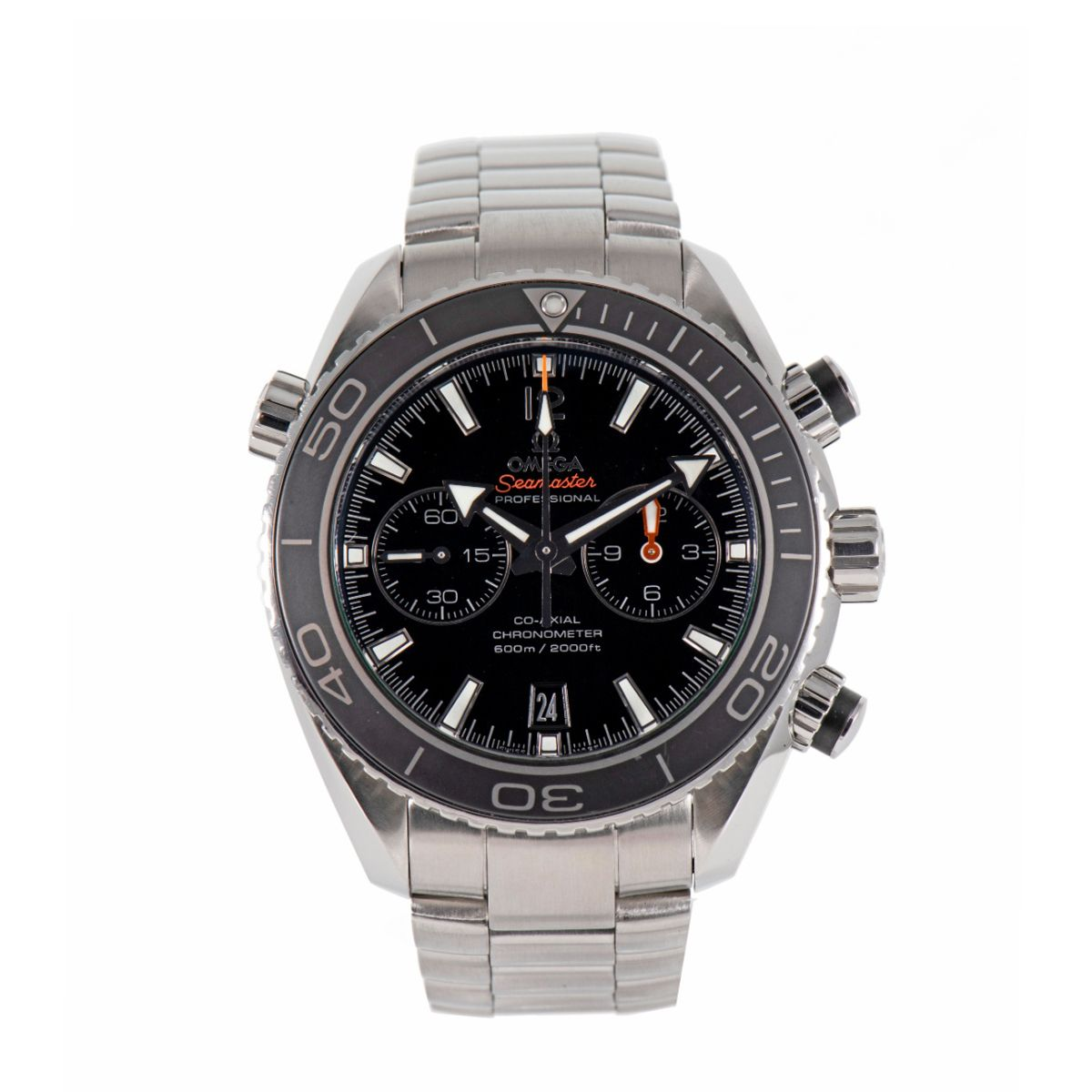 Omega Seamaster Planet Ocean 232.30.46.51.01.001 Chronograph Mens Watch
