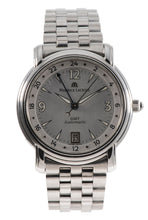 Load image into Gallery viewer, Maurice Lacroix Pontos 10818 Steel & Grey 38mm Mens Watch