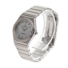 Load image into Gallery viewer, Omega Constellation 25mm Mother of Pearl Diamond Dial & Stainless Steel Quartz Ladies Watch