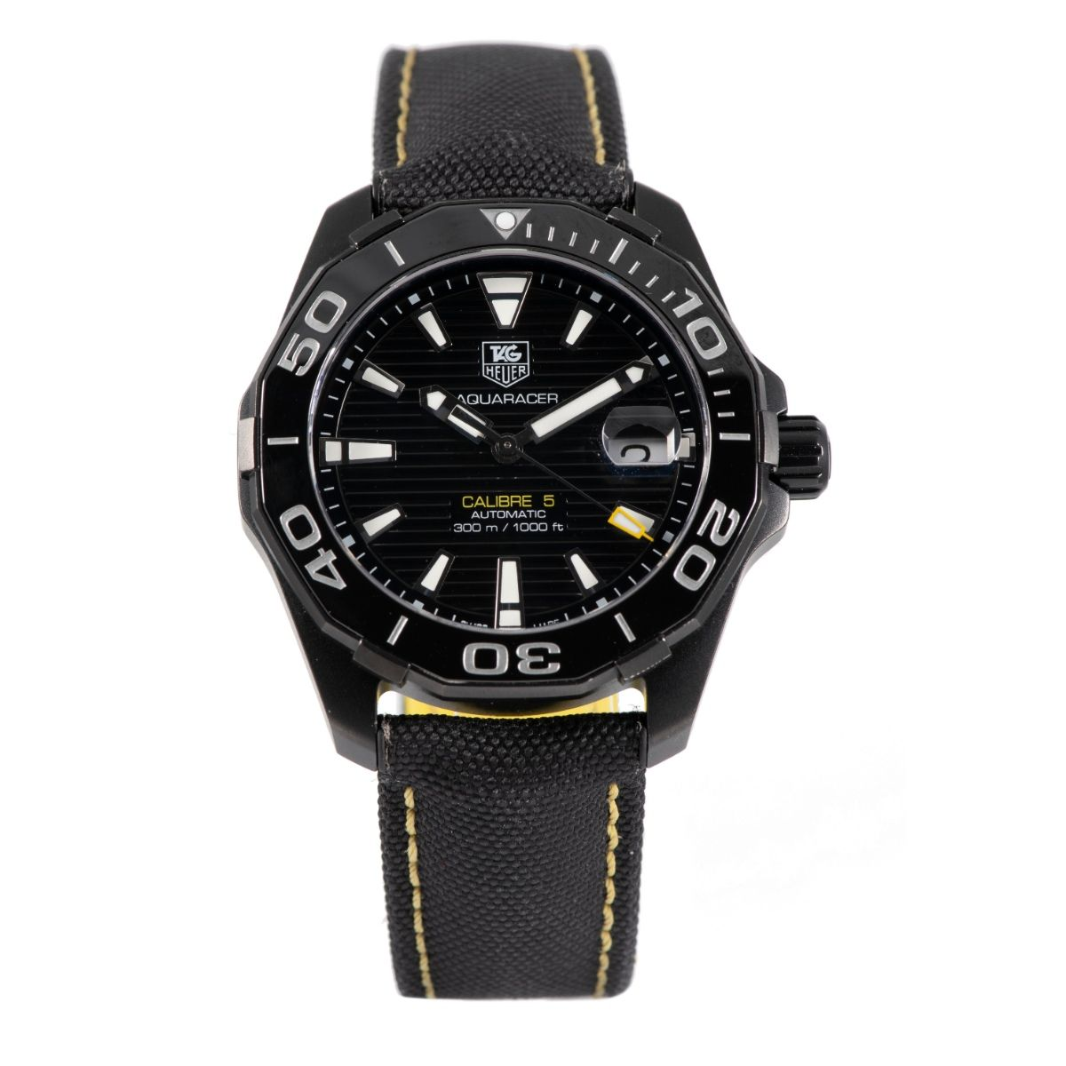 Tag Heuer Aquaracer WAY218A-0 Titanium 41mm Mens Watch