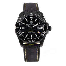 Load image into Gallery viewer, Tag Heuer Aquaracer WAY218A-0 Titanium 41mm Mens Watch