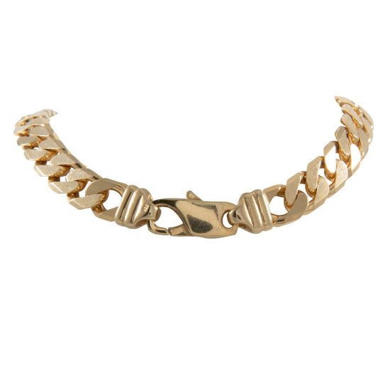 "9ct Yellow Gold Curb Chain (20"") Mens"