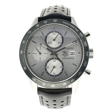 Load image into Gallery viewer, Tag Heuer Carrera CV2011 Steel & Grey 41mm Mens Watch