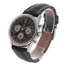 Load image into Gallery viewer, Breitling Navitimer 806 Chronograph Steel & Black 40.5mm Mens Watch
