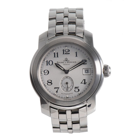 Baume Et Mercier Capeland MV045221 Steel 39mm Mens Watch