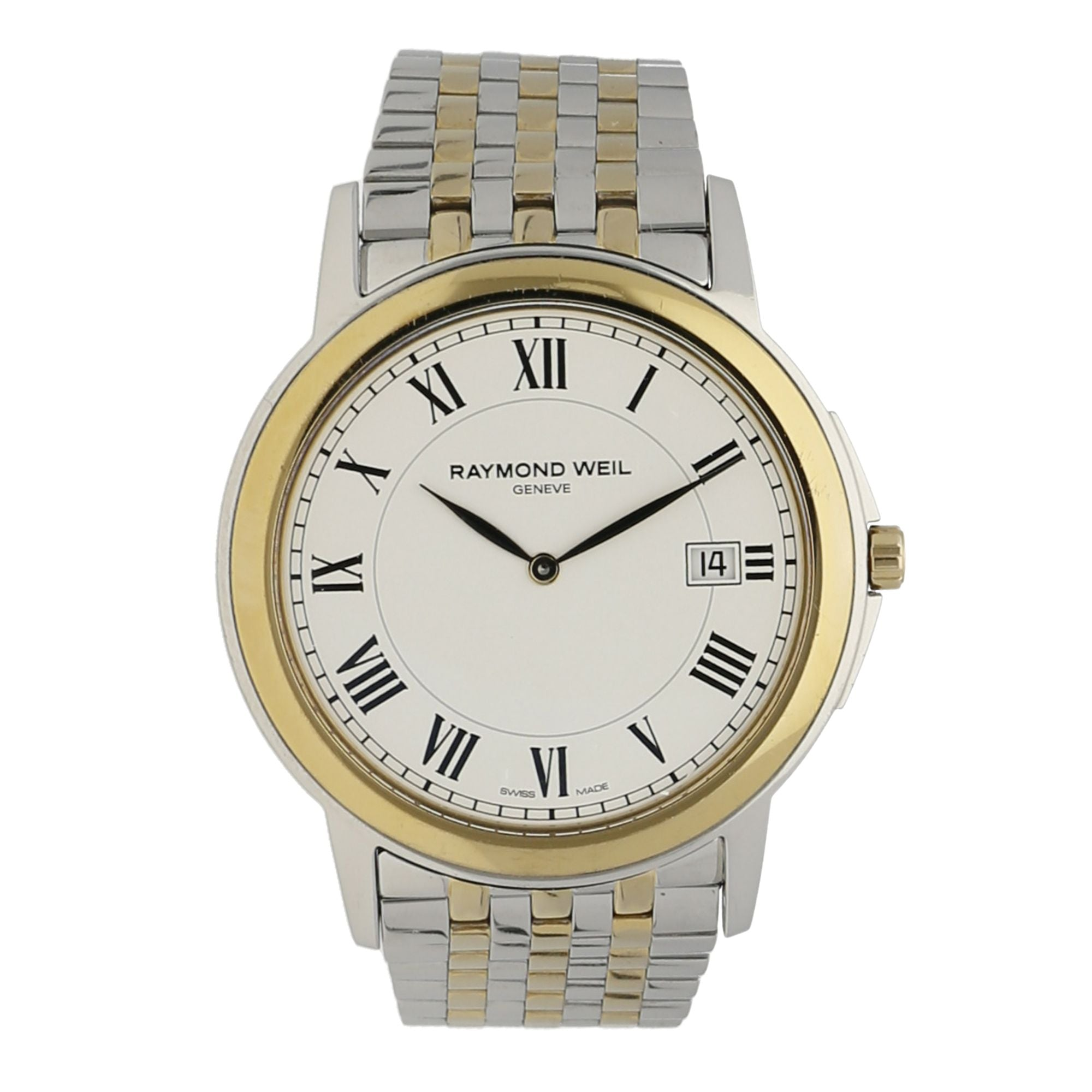 Raymond Weil Tradition 5466 Bi-Colour & White Quartz 39mm Mens Watch