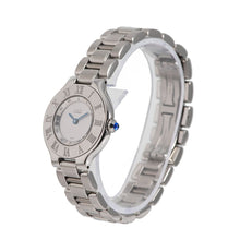 Load image into Gallery viewer, Cartier Must 21 1340 Stainless Steel & Grey 28mm Ladies Watch