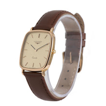 Load image into Gallery viewer, Longines Vintage Gold Plated 27mm Quartz Mens Watch