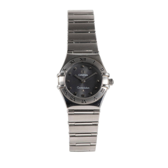 Omega Constellation Steel 22.5mm Quartz Ladies Watch