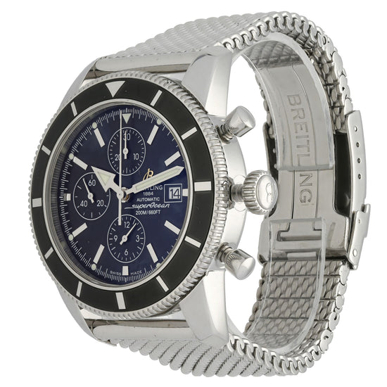 Breitling Superocean Heritage A13320 46mm Blue & Stainless Steel Automatic Mens Watch