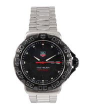 Load image into Gallery viewer, Tag Heuer Formula 1 WAH1110 Steel & Black 41mm Mens Watch