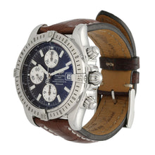 Load image into Gallery viewer, Breitling Chronomat Evolution A13356 44mm Chronograph Blue & Stainless Steel Mens Watch