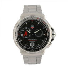 Load image into Gallery viewer, Tag Heuer F1 WAH111C 41mm Stainless Steel & Black Quartz Mens Watch