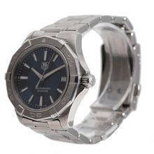 Load image into Gallery viewer, Tag Heuer Aquaracer WAP1112 Steel & Blue 39mm Mens Watch