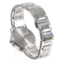 Load image into Gallery viewer, Bvlgari BBL33S Steel & Mother of Pearl Diamond 33mm Ladies Watch