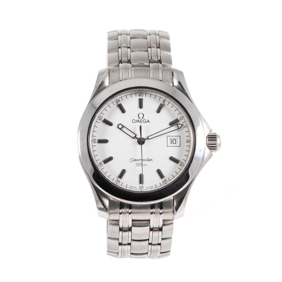 Omega Seamaster - 36mm Stainless Steel Watch Mens