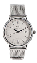 Load image into Gallery viewer, IWC Portofino IW356505 Steel & Grey 40mm Mens Watch