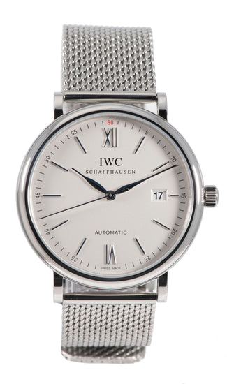 IWC Portofino IW356505 Steel & Grey 40mm Mens Watch