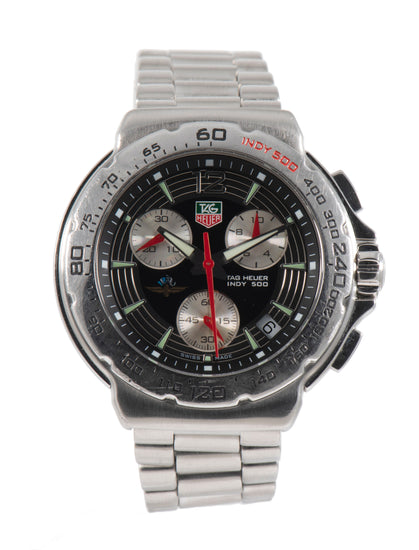 Tag Heuer F1 CAC111B - 40mm Stainless Steel Mens Watch